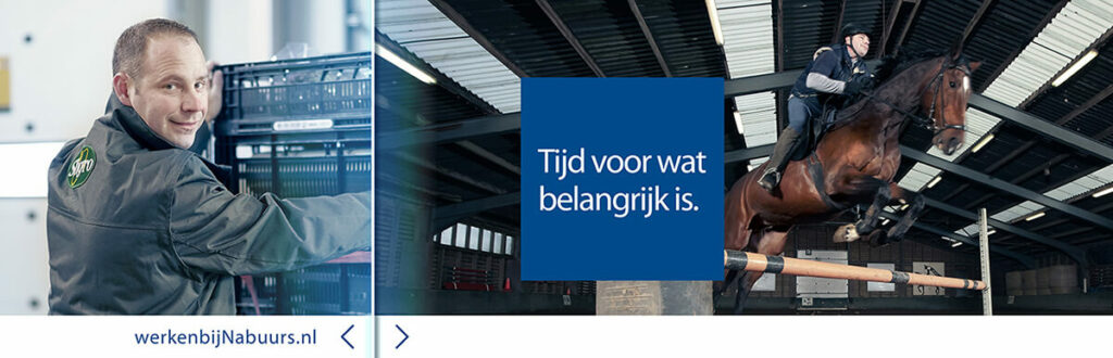 Nabuurs employer branding banner