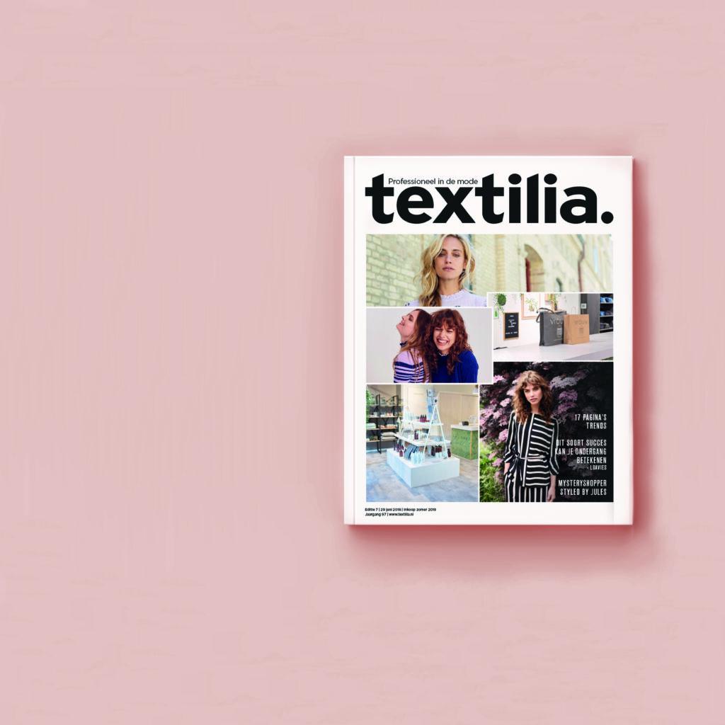 Textilia magazine restyling cover alt